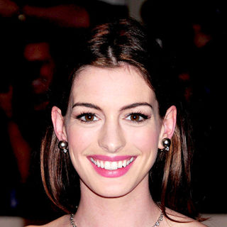 Anne Hathaway in The Costume Institute Gala Benefit