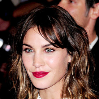 Alexa Chung in The Costume Institute Gala Benefit