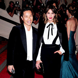 Phillip Lim, Alexa Chung in The Costume Institute Gala Benefit