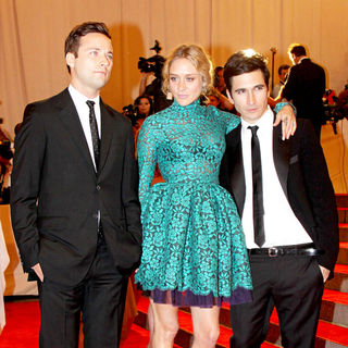 Jack McCollough, Chloe Sevigny, Lazaro Hernandez in The Costume Institute Gala Benefit