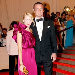 Naomi Watts, Liev Schreiber in The Costume Institute Gala Benefit
