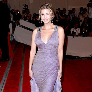 Ivanka Trump in The Costume Institute Gala Benefit