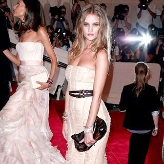 Rosie Huntington-Whiteley in The Costume Institute Gala Benefit