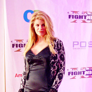 Kirstie Alley in Muhammad Ali's Celebrity Fight Night XII - Inside