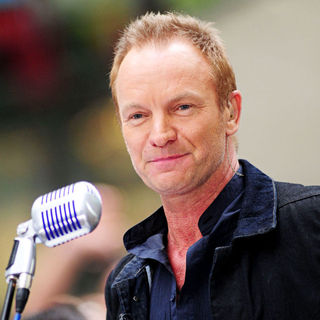Sting - Sting Performing at The Opening NBC Today Show Toyota Concert