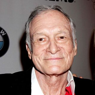 Hugh Hefner in 2010 Playmate of The Year Announcement