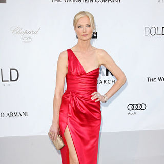 Joely Richardson in 2010 Cannes International Film Festival - Day 9 - amfAR's Cinema Against AIDS Gala - Arrivals