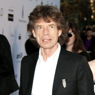 Mick Jagger in 2010 Cannes International Film Festival - Day 9 - amfAR's Cinema Against AIDS Gala - Arrivals