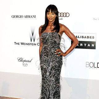 Naomi Campbell in 2010 Cannes International Film Festival - Day 9 - amfAR's Cinema Against AIDS Gala - Arrivals