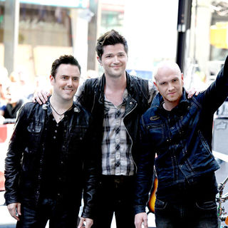 The Script in The Script Perform as Part of The 'Toyota Concert Series' on NBC's 'Today'