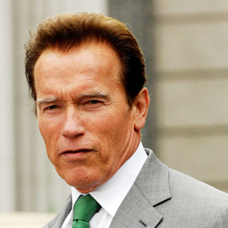 Arnold Schwarzenegger in The Reopening of Universal Studios' New York Back Lot in Universal City