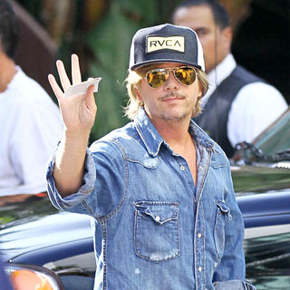 David Spade in Celebrities Arriving at The Staples Center to Watch Los Angeles Lakers vs. Boston Celtics