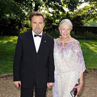 Franco Nero, Vanessa Redgrave in Raisa Gorbachev Foundation Party