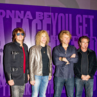 Bon Jovi in Bon Jovi Begins Their Summer Residency - Photocall