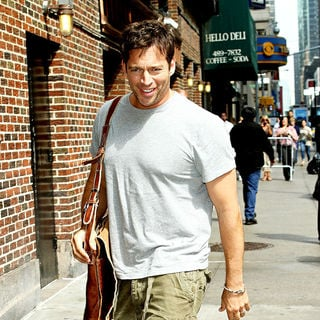 Harry Connick Jr. in Celebrities at The Ed Sullivan Theater for The 'Late Show With David Letterman'