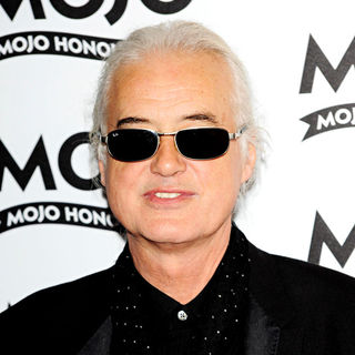 Jimmy Page in 2010 MOJO Honours List Award Ceremony - Arrivals