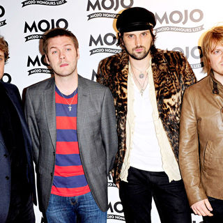 Kasabian in 2010 MOJO Honours List Award Ceremony - Arrivals - wenn5496365