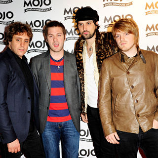 Kasabian in 2010 MOJO Honours List Award Ceremony - Arrivals - wenn5496366