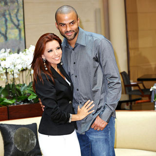 Eva Longoria, Tony Parker in 'By Heart Gala' Photocall
