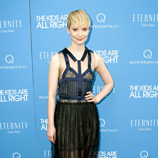 Mia Wasikowska in New York Pemiere of The 'Kids Are All Right'