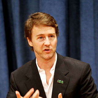 Edward Norton in Edward Norton is Appointed UN Goodwill Ambassador for Biodiversity