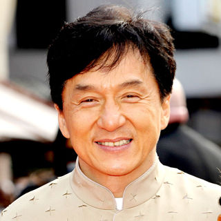 Jackie Chan in UK Film Premiere of Karate Kid - Arrivals