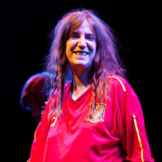 Patti Smith Performs in Concert During 'Veranos de la Villa' Music Festival