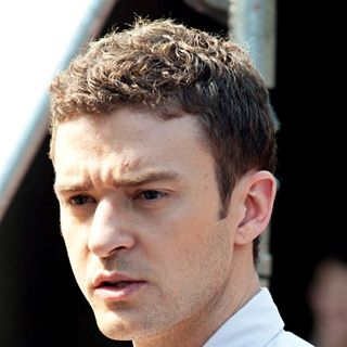 Justin Timberlake in Justin Timberlake on The Set of His New Film 'Friends with Benefits'