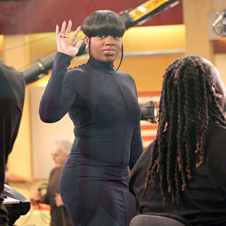 Fantasia Barrino - Fantasia Barrino Performing on ABCs 'Good Morning America'