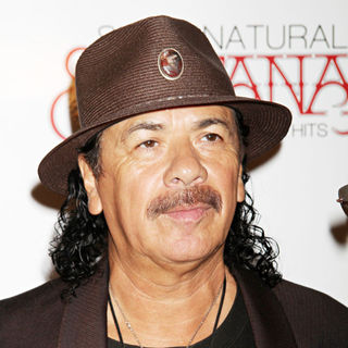 Carlos Santana in Santana Celebrates New Album 'Guitar Heaven'