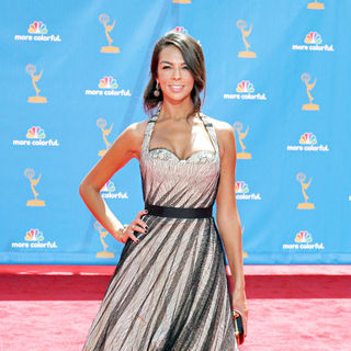 Terri Seymour in The 62nd Annual Primetime Emmy Awards