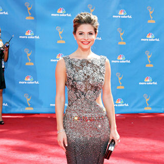 Maria Menounos in The 62nd Annual Primetime Emmy Awards