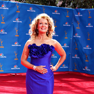 Mary Hart in The 62nd Annual Primetime Emmy Awards