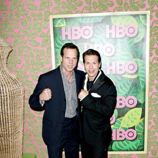 Bill Paxton, Jon Seda in HBO's 62nd Annual Primetime Emmy Awards After Party - Arrivals