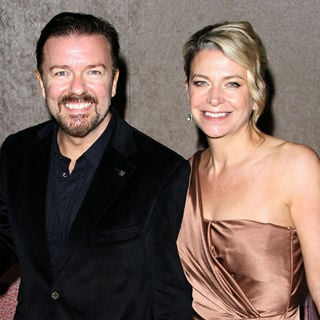 Ricky Gervais, Jane Fallon in HBO's 62nd Annual Primetime Emmy Awards After Party - Arrivals