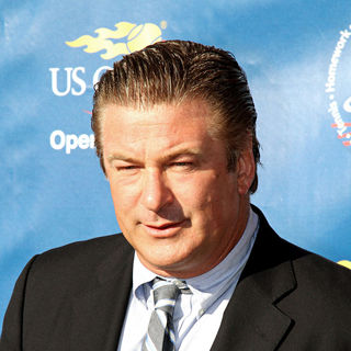 Alec Baldwin in 2010 US Open Opening Night Ceremony