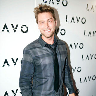 Lance Bass in Lavo NYC Grand Opening