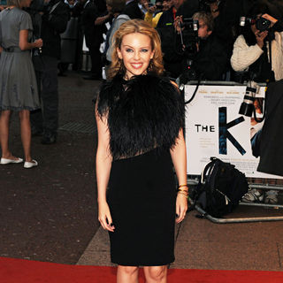 Kylie Minogue in The Kid - UK Film Premiere