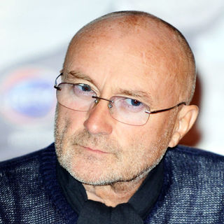 Phil Collins in Phil Collins Promotes His New Album 'Going Back'