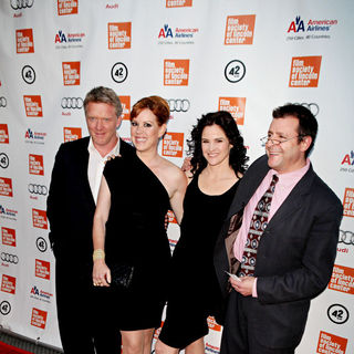 Judd Nelson, Ally Sheedy, Molly Ringwald, Anthony Michael Hall in The Film Society of Lincoln Center: 25th Anniversary of The Breakfast Club