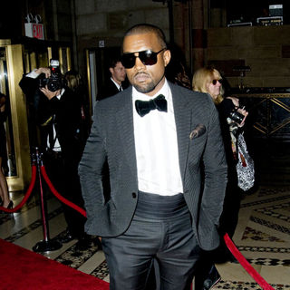 Kanye West in 2010 New Yorkers For Children Fall Gala - Inside