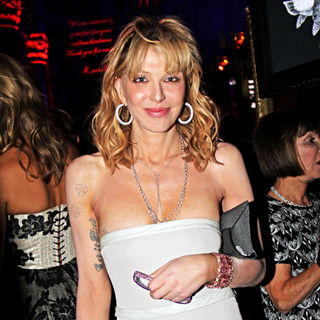 Courtney Love in 2010 New Yorkers For Children Fall Gala - Inside