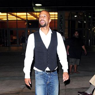 Common in Common Leaving The SunLife Staduim After Miami Dolphins vs. New York Jets NFL Football Game