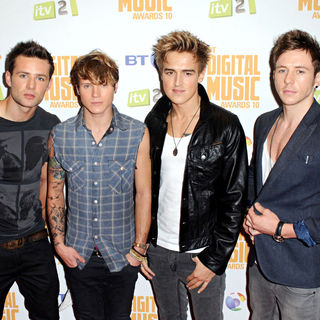 McFly in BT Digital Music Awards - Arrivals
