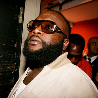 Rick Ross in BET Hip Hop Awards 2010 - Backstage