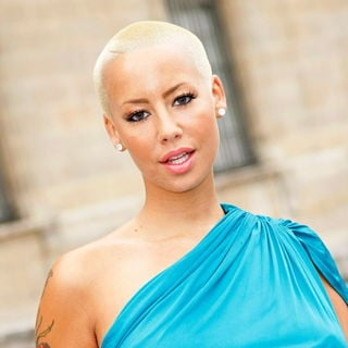 Amber Rose in Paris Fashion Week Ready to Wear Spring/Summer 2011 - Louis Vuitton - Outside Arrivals