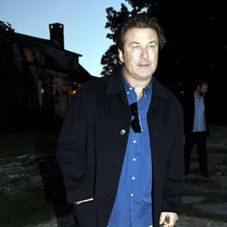 Alec Baldwin in A Dinner to Celebrate The Hamptons International Film Festival Screening of 'Blue Valentine'