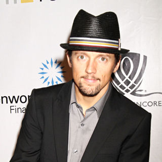 Jason Mraz in 15th Annual GRAND SLAM FOR CHILDREN Hosted by Andre Agassi