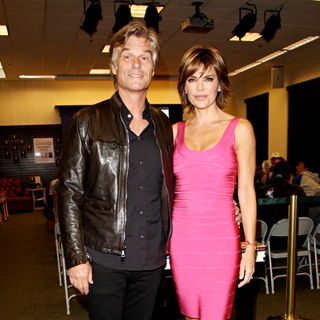 Harry Hamlin, Lisa Rinna in Harry Hamlin and Lisa Rinna Promote 'Starlit' & 'Full Frontal Nudity'