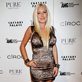 Heidi Montag Brings Halloween Spirit to Pure Nightclub